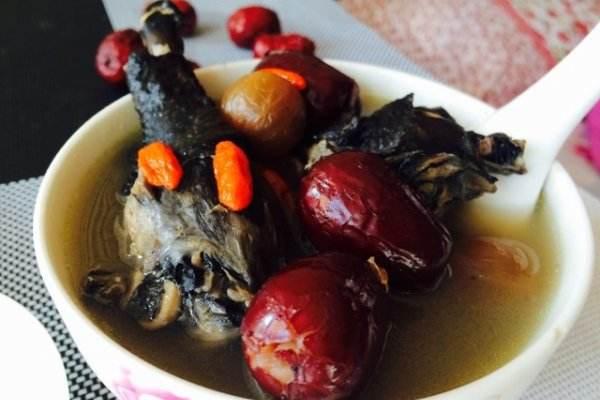 红枣乌鸡汤营养搭配食谱
