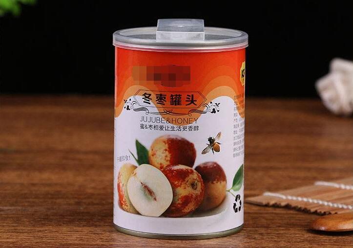 冬枣加成制成冬枣罐头