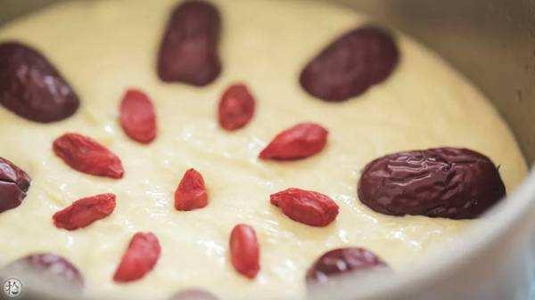 小米红枣蒸糕的做法