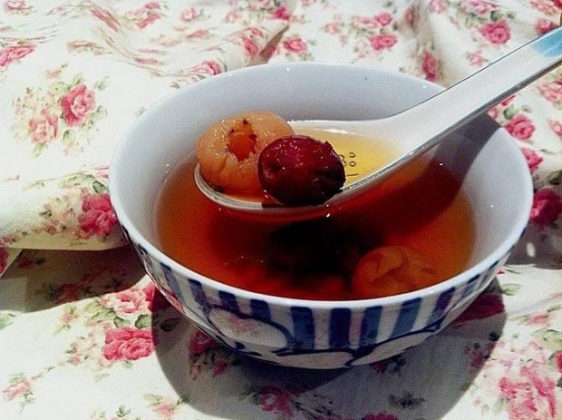 桂圆红枣茶的功效