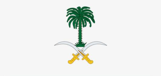 沙特国徽上挂着椰枣树