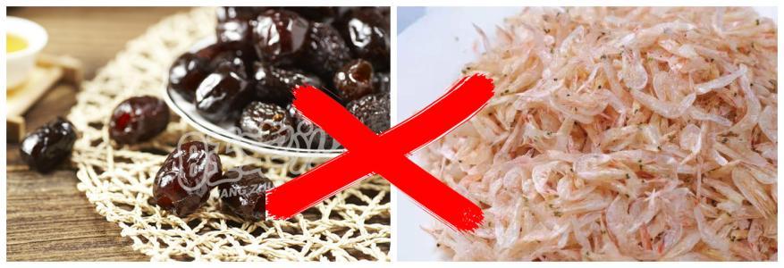 红枣和虾皮为什么不能一起