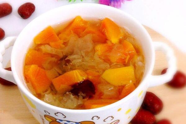 红枣木瓜汤的做法