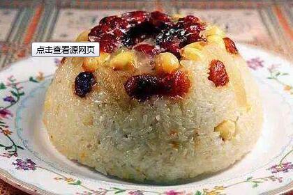 红枣糯米饭的做法