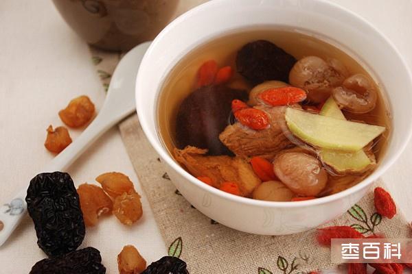 黑枣桂圆猪腱汤
