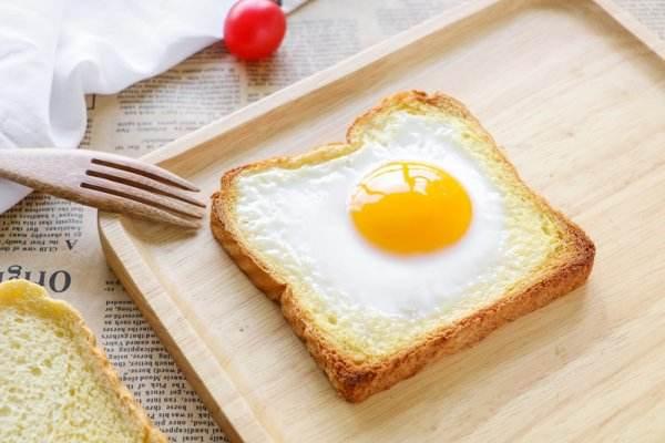 吃鸡蛋加吐司能减肥