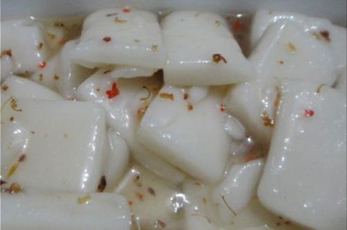 桂花糖炒年糕的做法步骤3