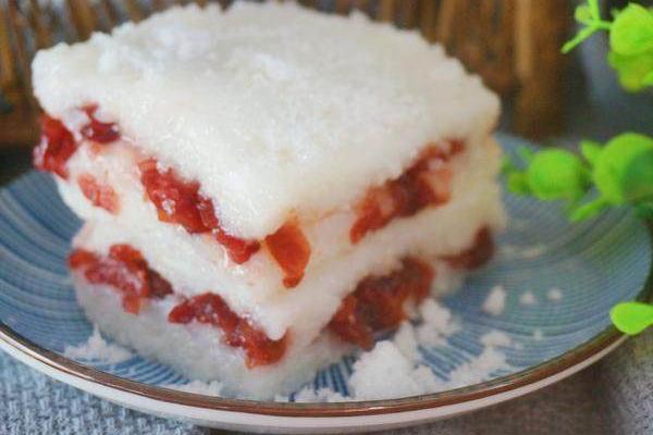 糯米切糕的做法