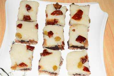 红果糯米凉糕的做法