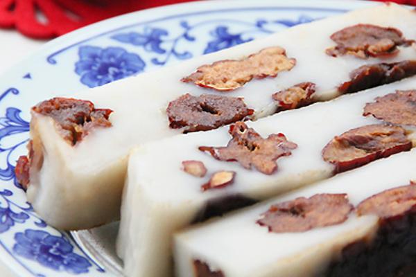 红枣粘糕的做法