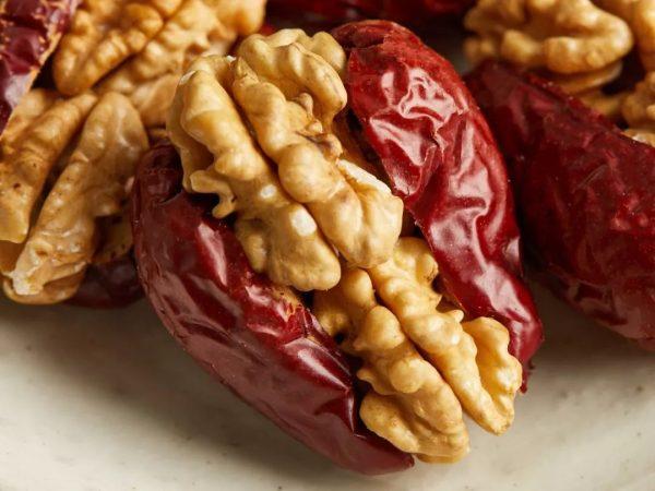 枣夹核桃成网红食品