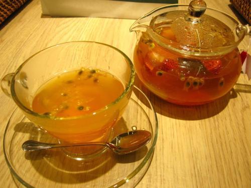 百香果水果红茶