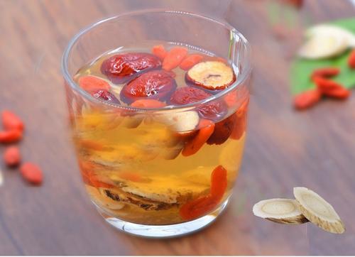 黄芪红枣枸杞茶的功效